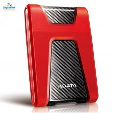 اي داتا هارد خارجي  HD650 USB 3.1 2TB ضد الصدمات أحمر