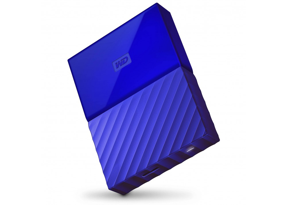 WESTERN DIGITAL EXTERNAL HARD DISK MY PASSPORT ULTRA 1TB 3.0 BLUE