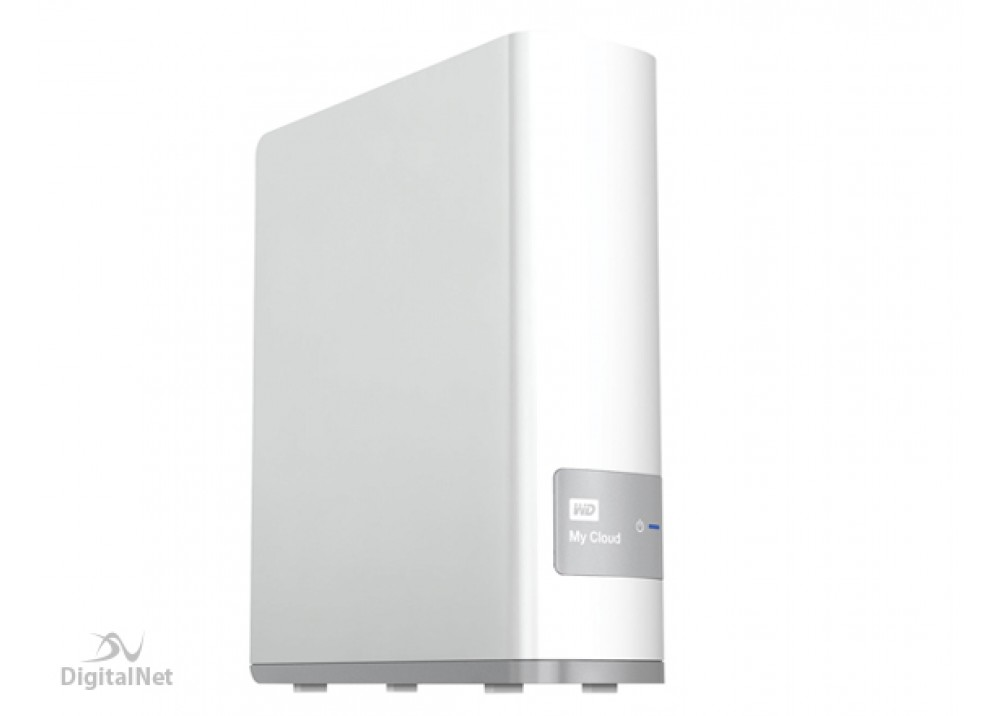 WESTERN DIGITAL EXTERNAL HARD DISK  MY CLOUD 4TB NETWORK USB 3.0 WHITE