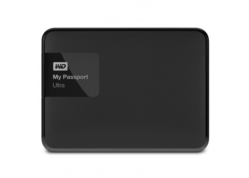 WESTERN DIGITAL EXTERNAL HARD DISK  MY PASSPORT ULTRA 3TB 3.0 BLACK