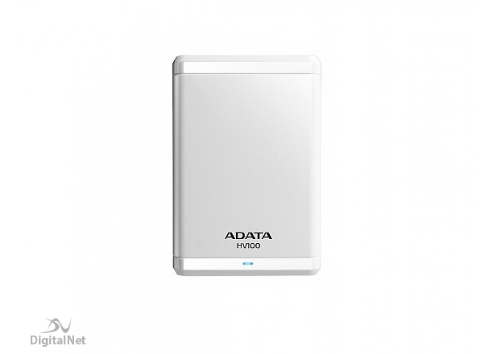 A-DATA EXTERNAL HARD DISK 1TB HV100 WHITE USB 3.0