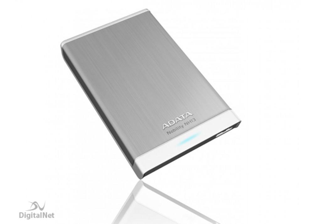 A-DATA EXTERNAL HARD DISK 1TB NH13 BUSINESS USB 3.0 METALLIC SILVER