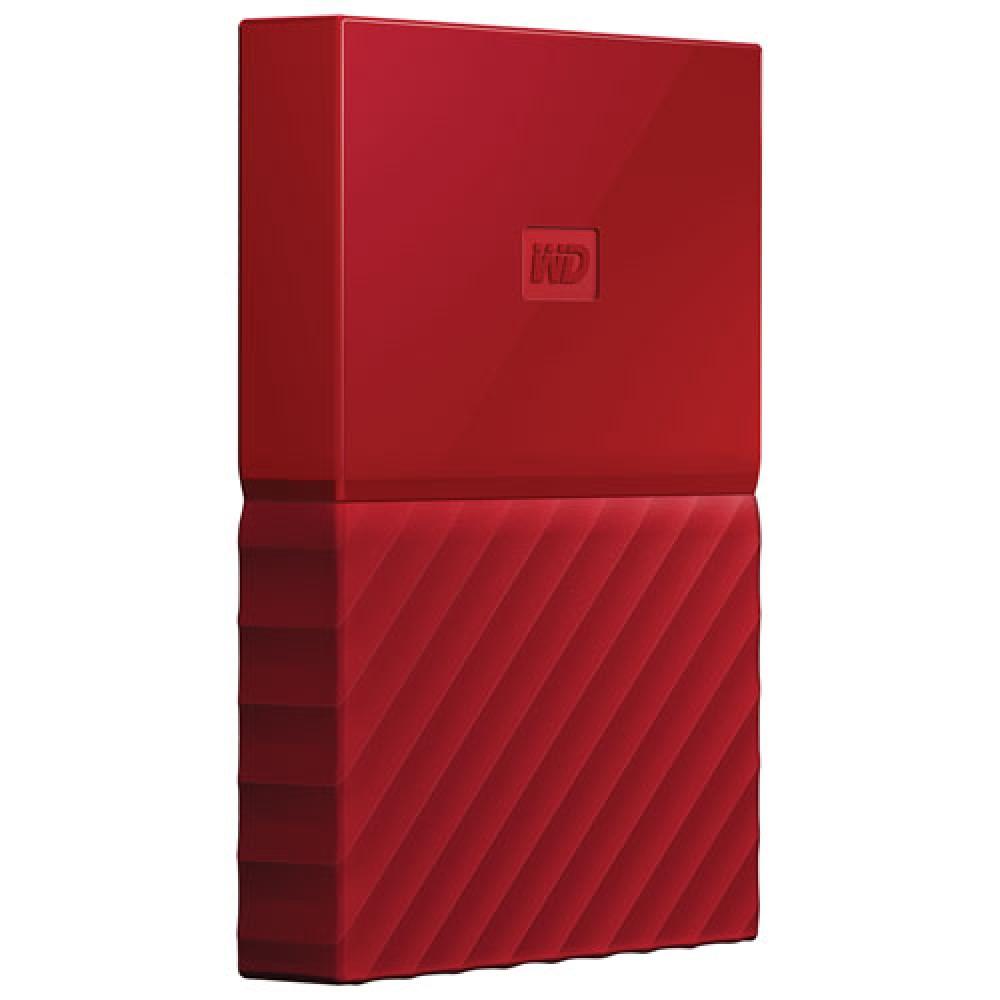WESTERN DIGITAL EXTERNAL HARD DISK  MY PASSPORT ULTRA 1TB 3.0 RED