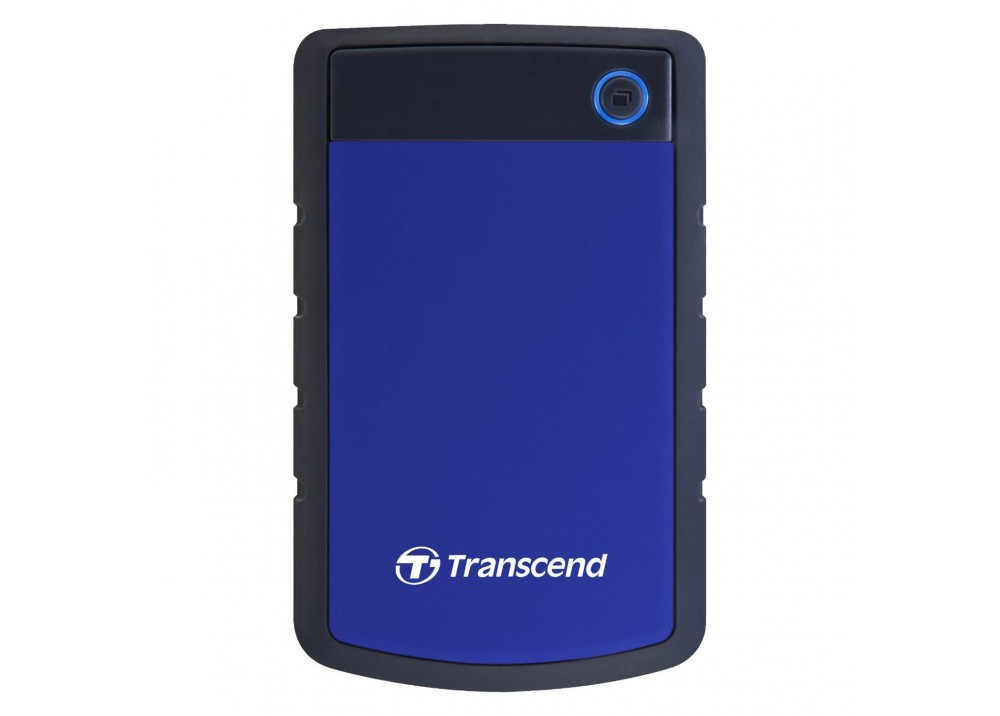 TRANSCEND EXTERNAL HARD DISK 1TB 25H3 ANTI SHOCK BLUE