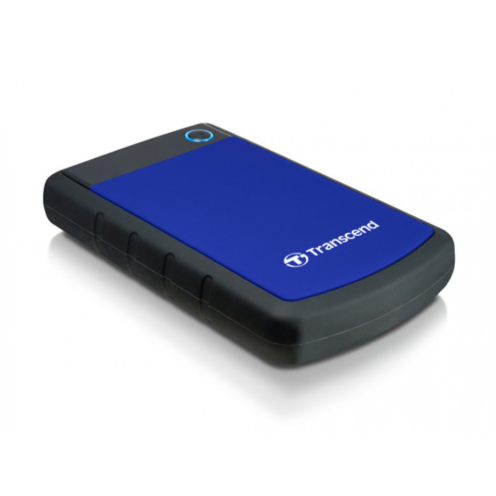 TRANSCEND EXTERNAL HARD DISK 4TB 25H3 ANTI SHOCK BLUE