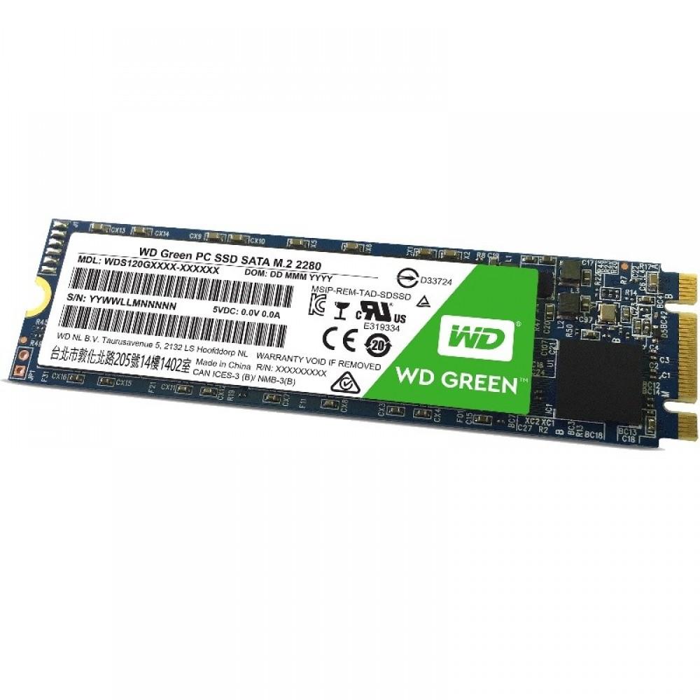 WESTERN DIGITAL GREEN 240GB M.2 SSD SOLID STATE 2280