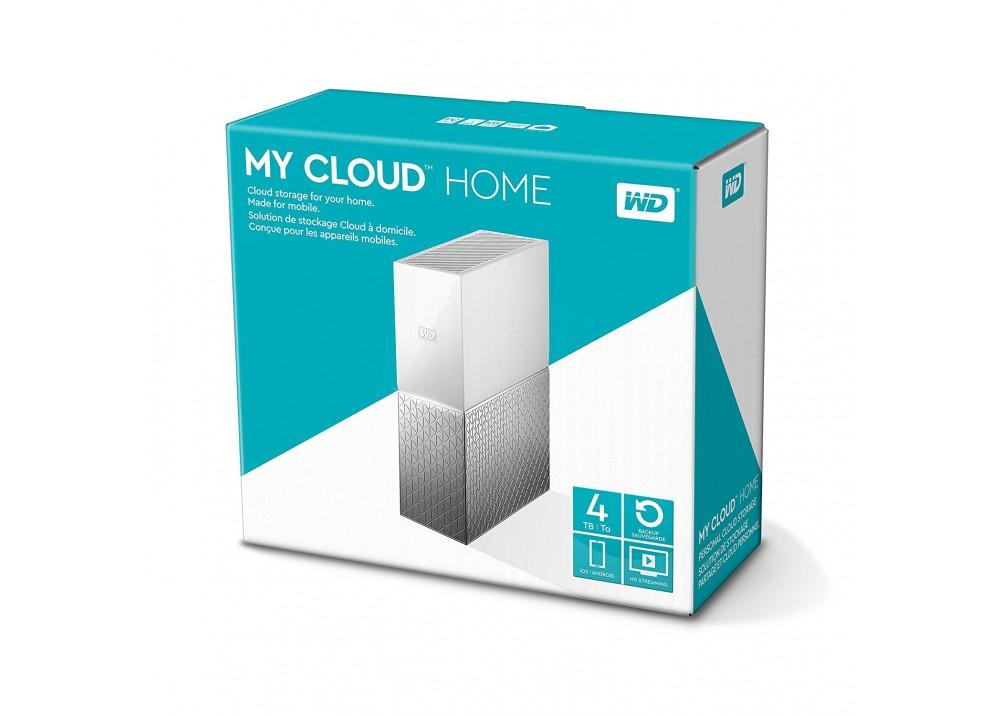 WESTERN DIGITAL EXTERNAL HARD DISK MY CLOUD HOME 3TB NETWORK WHITE