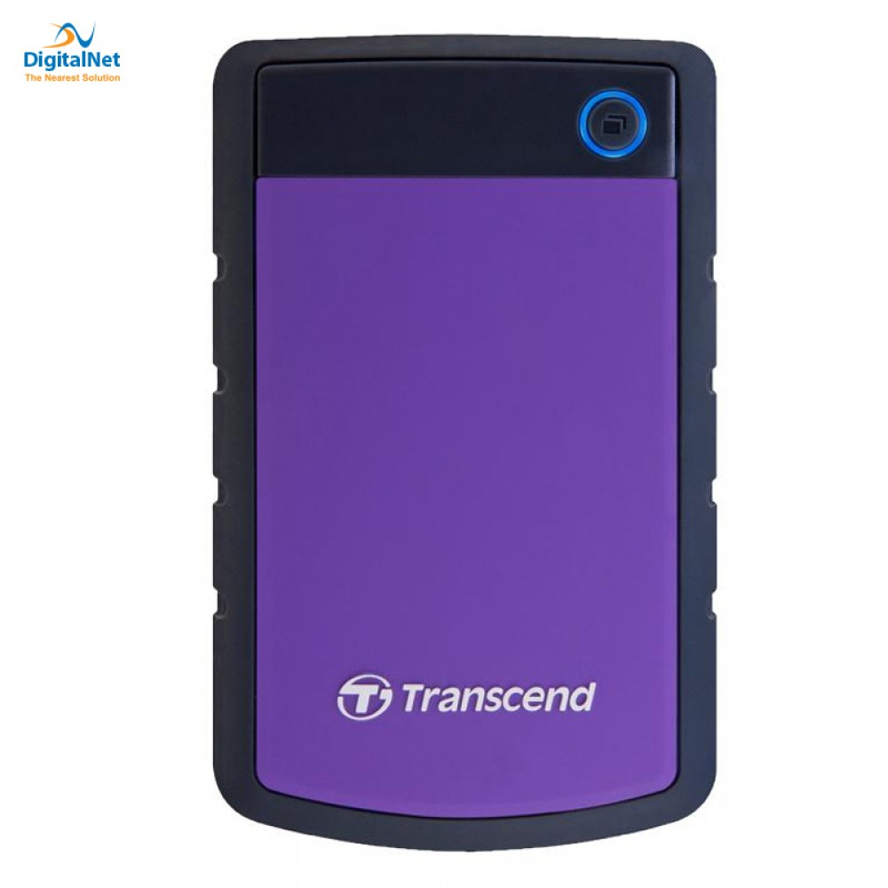 TRANSCEND EXTERNAL HARD DISK 4TB 25H3 ANTI SHOCK PURPLE