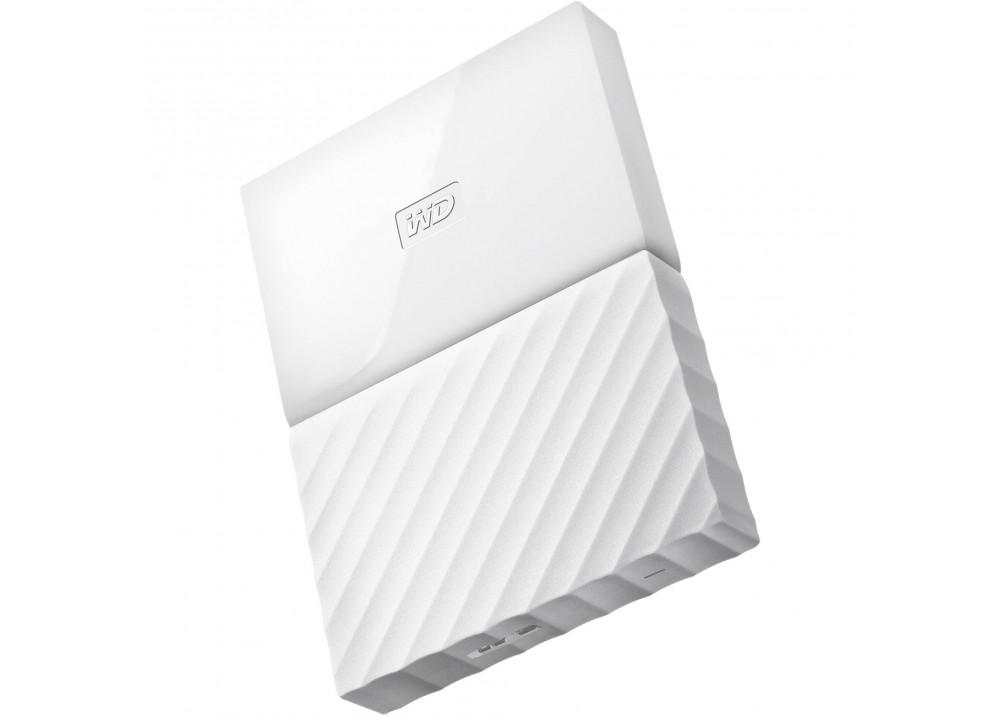 WESTERN DIGITAL EXTERNAL HARD DISK  MY PASSPORT ULTRA 2TB 3.0 WHITE