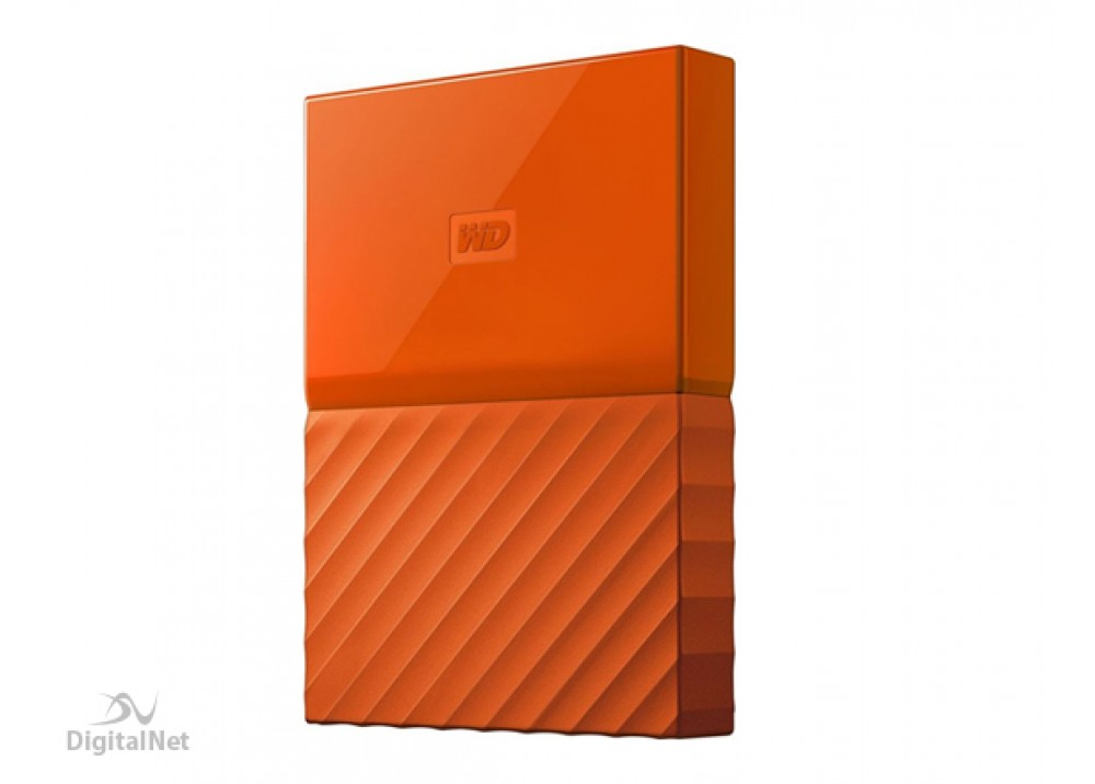 WESTERN DIGITAL EXTERNAL HARD DISK MY PASSPORT ULTRA 2TB 3.0 ORANGE