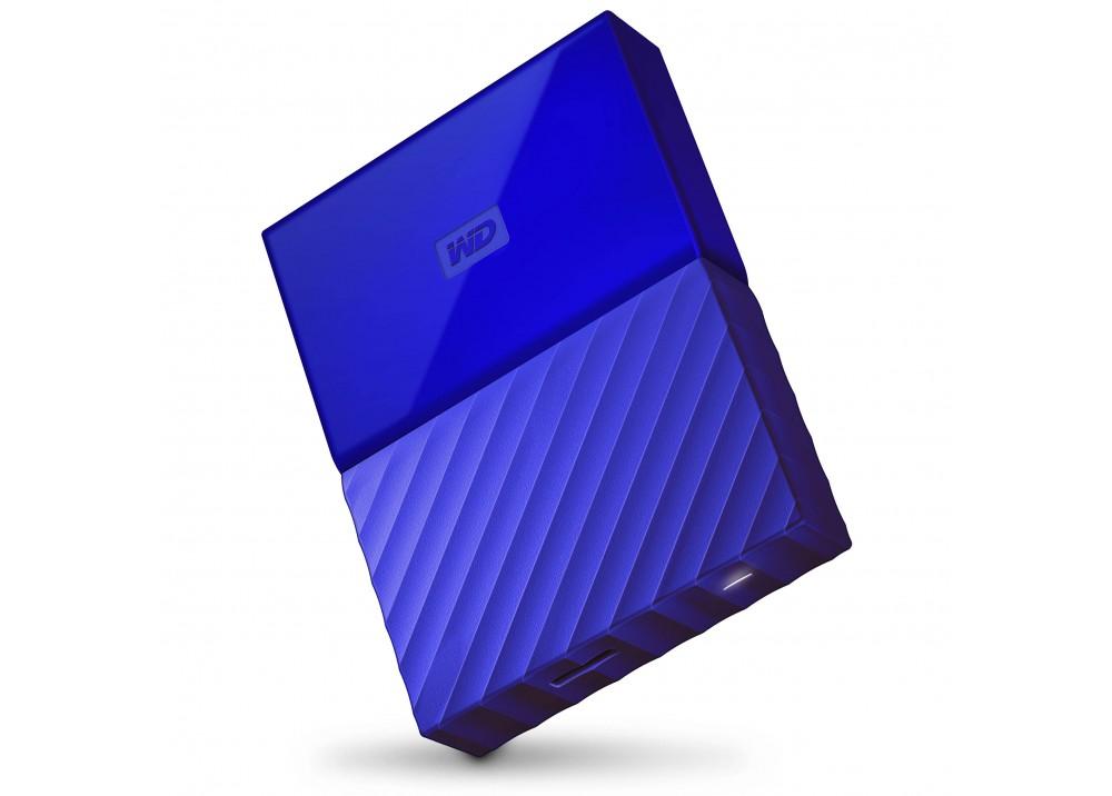 WESTERN DIGITAL EXTERNAL HARD DISK MY PASSPORT ULTRA 4TB 3.0 BLUE
