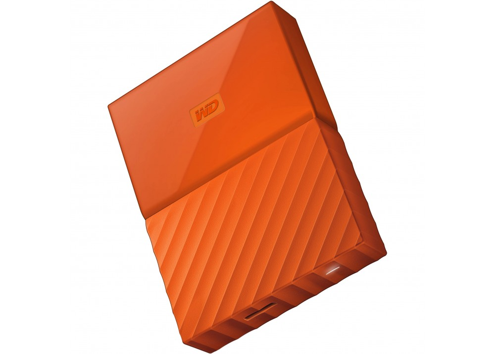 WESTERN DIGITAL EXTERNAL HARD DISK  MY PASSPORT ULTRA 4TB 3.0 YELLOW