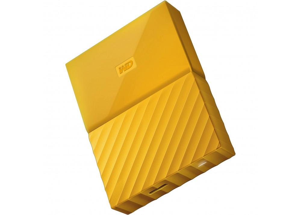 WESTERN DIGITAL EXTERNAL HARD DISK MY PASSPORT ULTRA 3TB 3.0 YELLOW