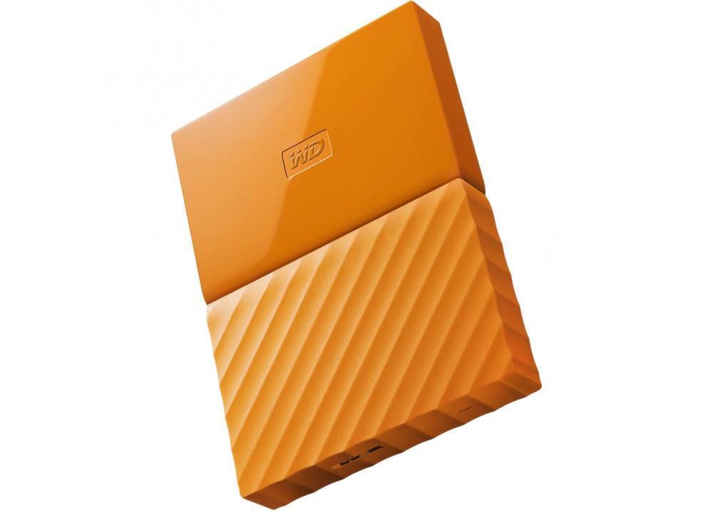 WESTERN DIGITAL EXTERNAL HARD DISK MY PASSPORT ULTRA 3TB 3.0 ORANGE