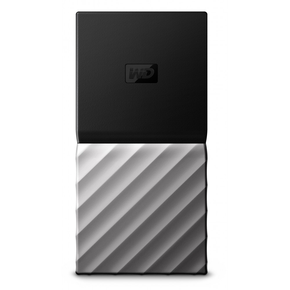 WESTERN DIGITAL MY PASSPORT SSD EXTERNAL SOLID STATE DRIVE 512GB USB 3.1 SILVER