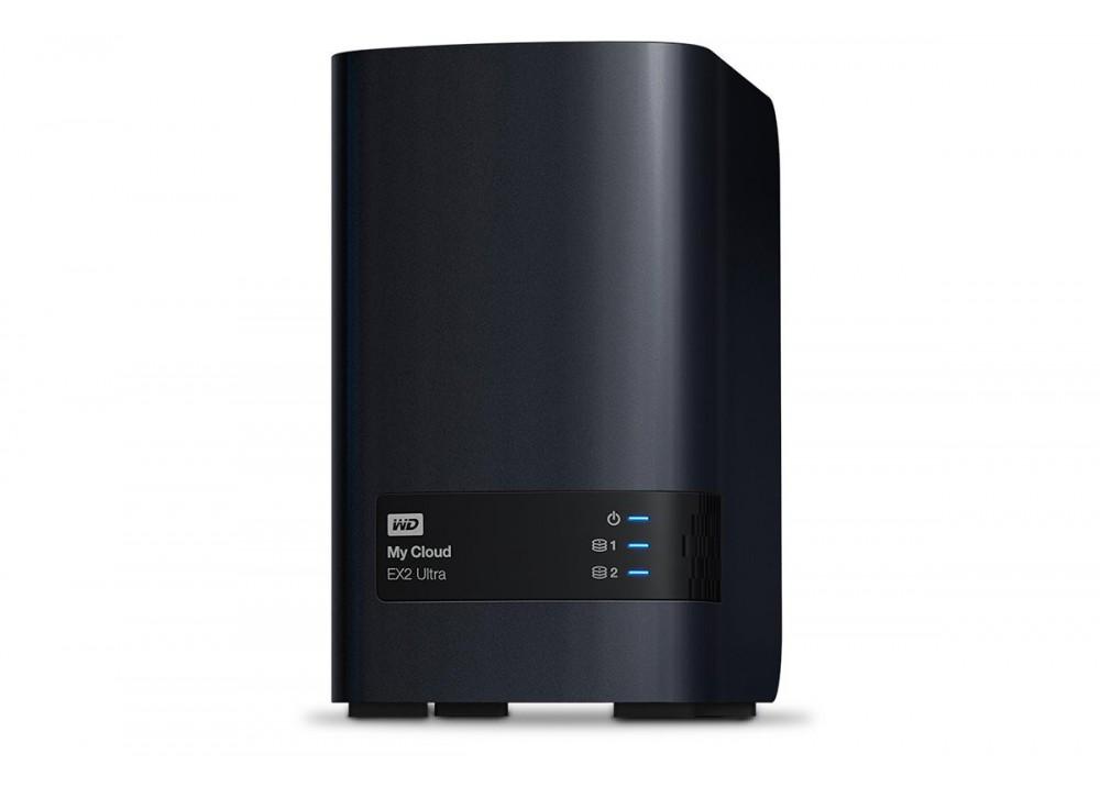 WESTERN DIGITAL EXTERNAL HARD DISK MY CLOUD 16TB EX2 ULTRA NAS STORAGE USB 3.0 BLACK