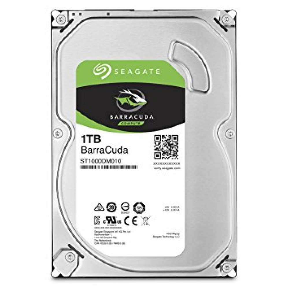"SEAGATE INTERNAL DESKTOP HARD DISK DRIVE 1TB 3.5"" BARRACUDA"