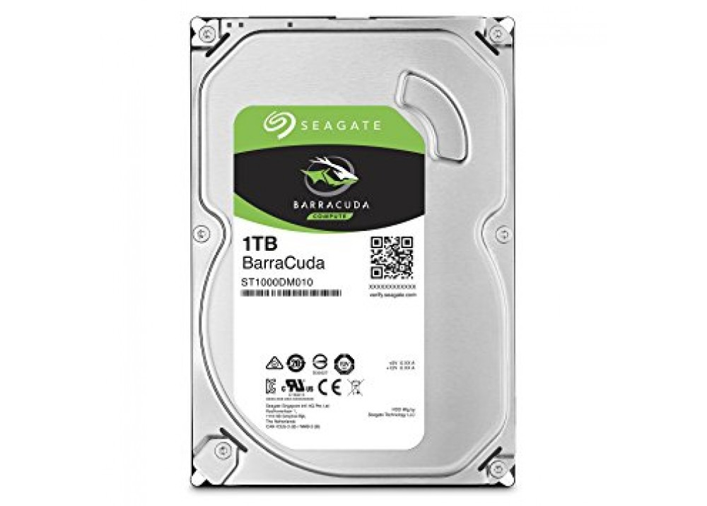 SEAGATE INTERNAL DESKTOP HARD DISK DRIVE 1TB BARRACUDA