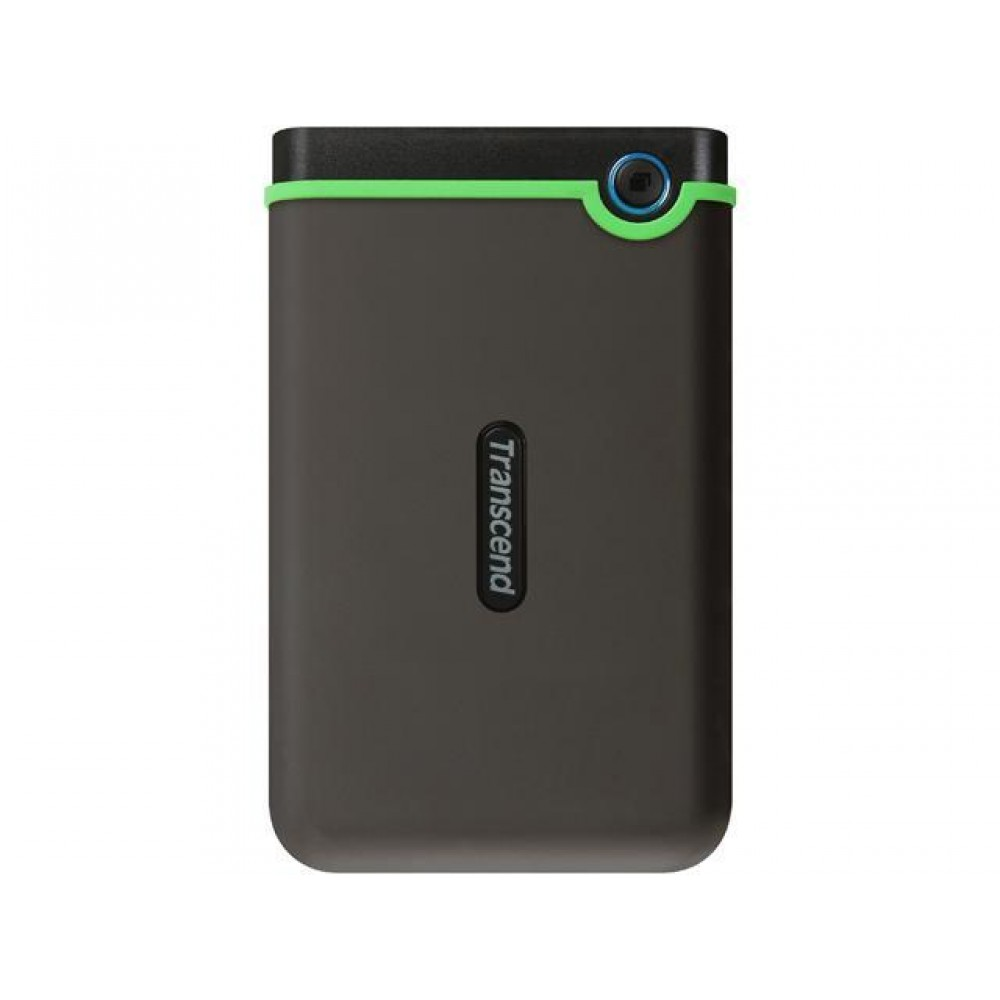 TRANSCEND EXTERNAL HARD DISK 2TB M3 ANTI SHOCK IRON GREY