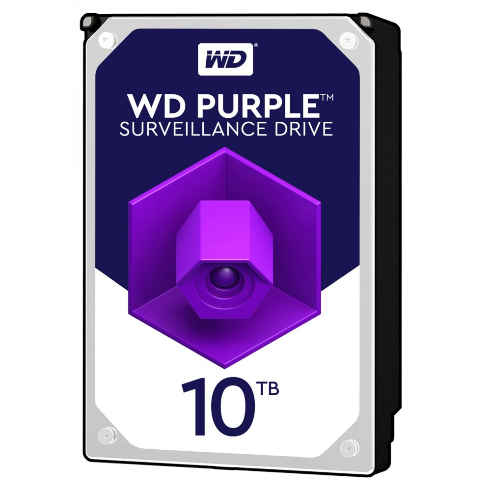 "WESTERN DIGITAL PURPLE SURVEILLANCE INTERNAL DESKTOP HARD DISK 10TB 3.5"""