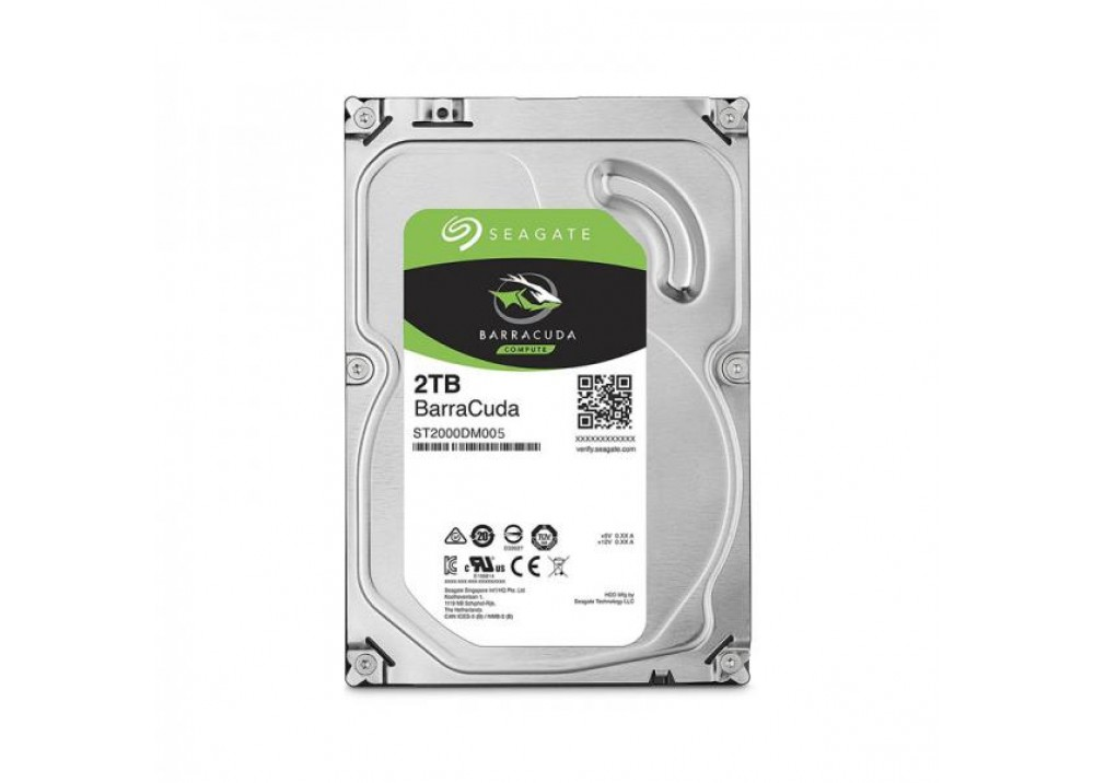 SEAGATE INTERNAL DESKTOP HARD DISK DRIVE 2TB BARRACUDA
