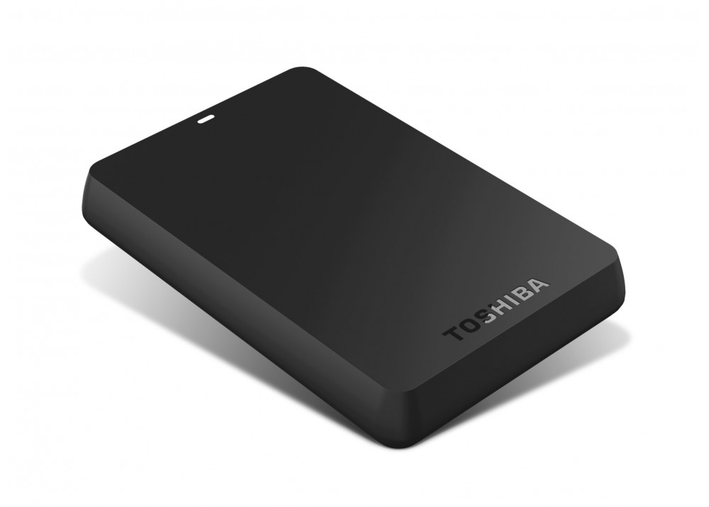 TOSHIBA CANVIO BASICS EXTERNAL HARD DISK 500GB BLACK
