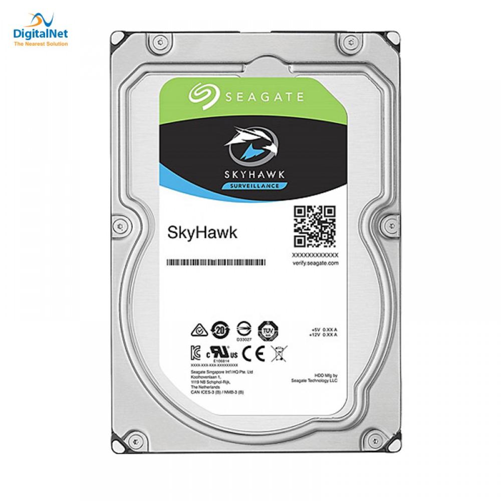 SEAGATE INTERNAL DESKTOP HARD DISK DRIVE  SKYHAWK SATA  6GB/S  256MB 8TB
