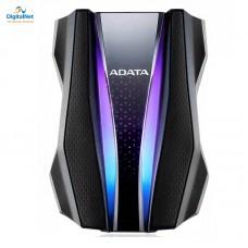 اي داتا هارد خارجي ضد الصدمات HD770G 1TB USB 3.2  GAMING RGB أسود