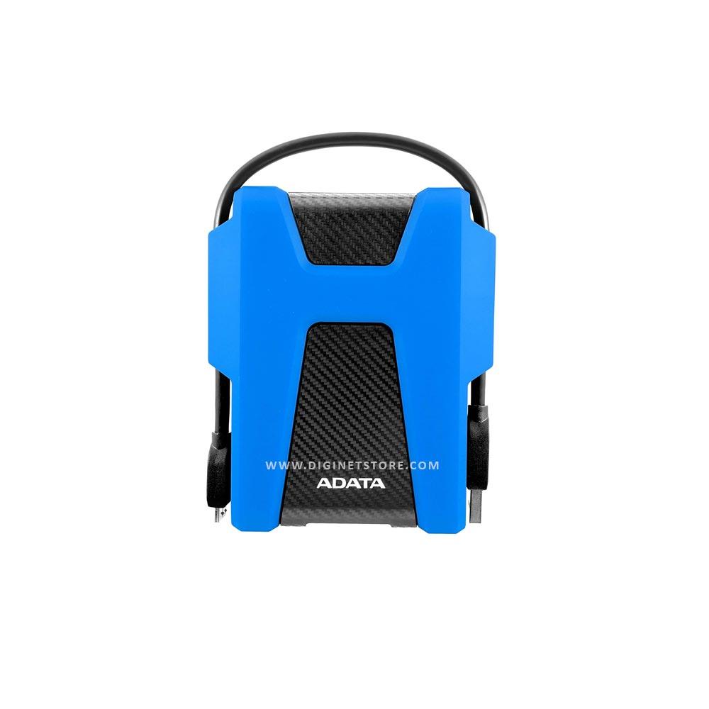 ADATA EXTERNAL HARD DRIVE HD680 USB 3.2 1TB ANTI-SHOCK BLLUE