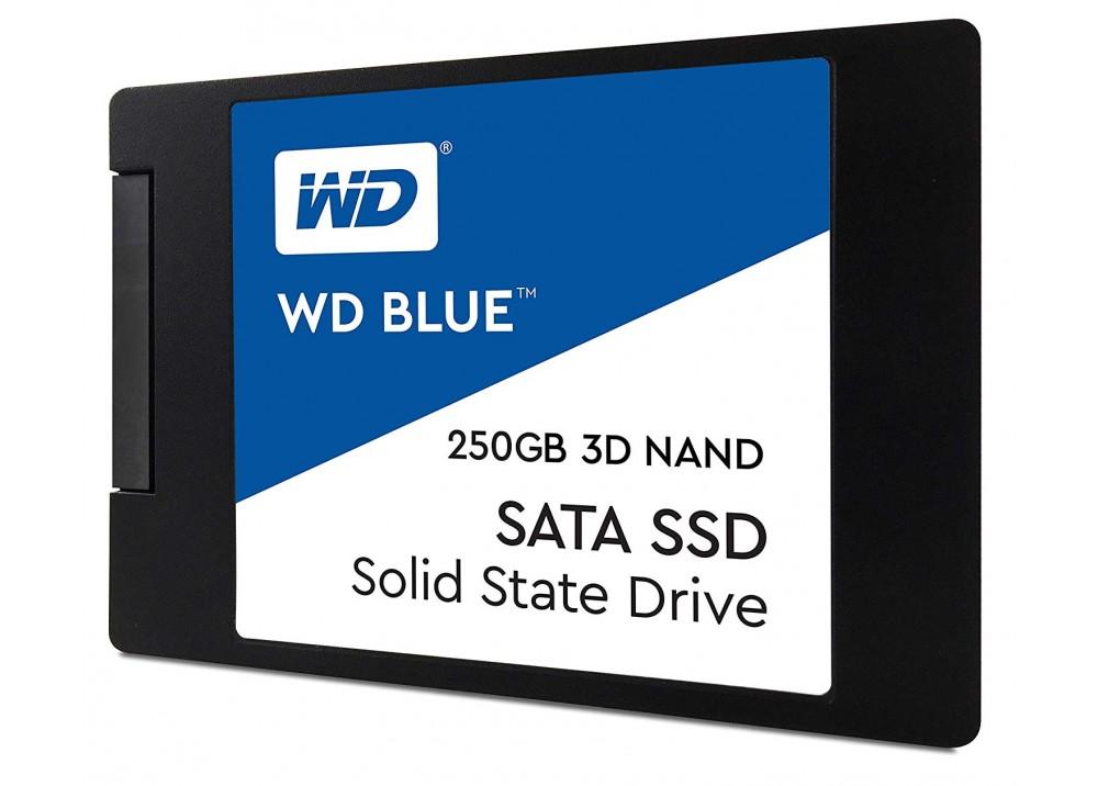 "WESTERN DIGITAL INTERNAL HARD DISK BLUE 3D NAND SATA SSD 250GB 2.5"""