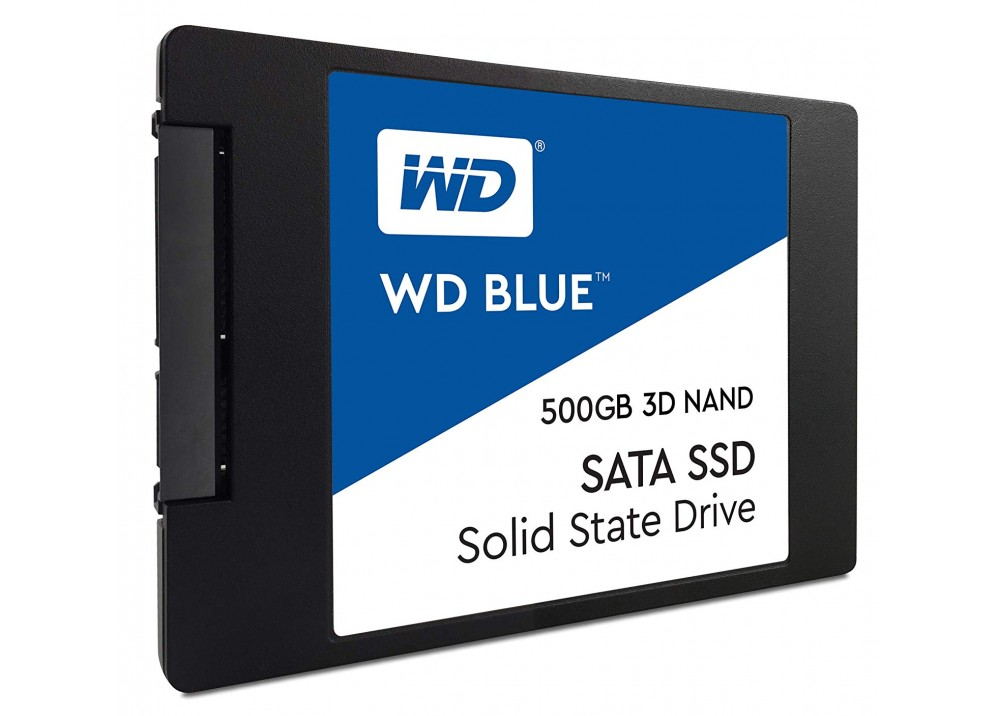 "WESTERN DIGITAL INTERNAL HARD DISK BLUE 3D NAND SATA SSD 500GB 2.5"""