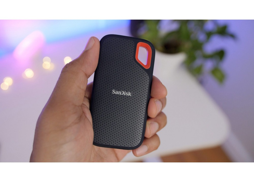 SANDISK EXTREME PORTABLE 250GB SSD BLACK
