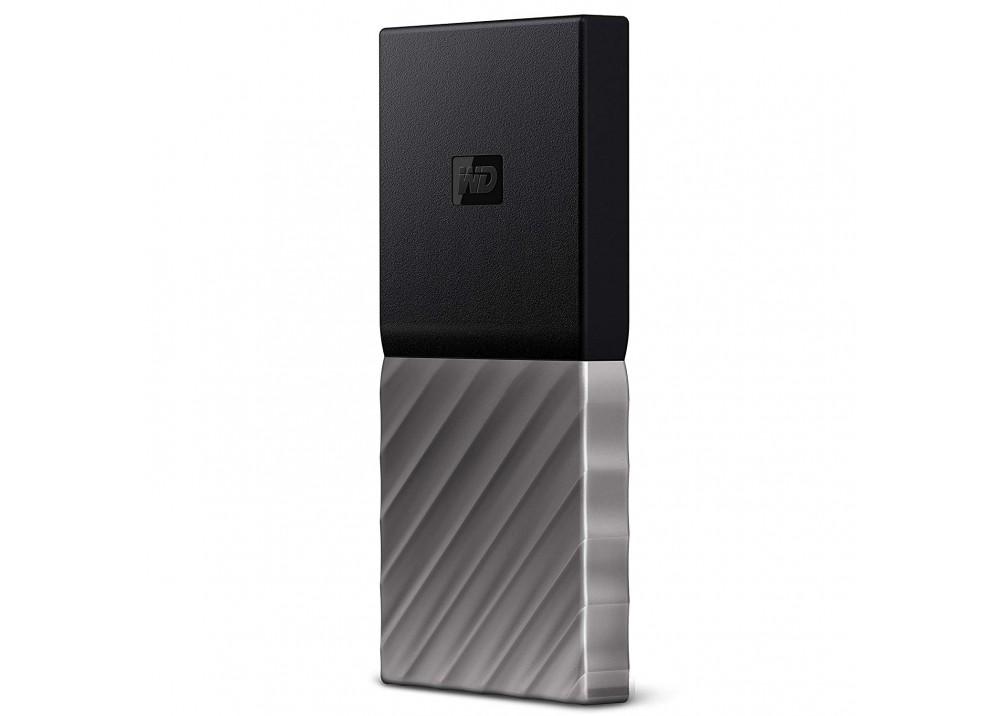 WESTERN DIGITAL MY PASSPORT SSD EXTERNAL SOLID STATE DRIVE 2TB USB 3.1 SILVER