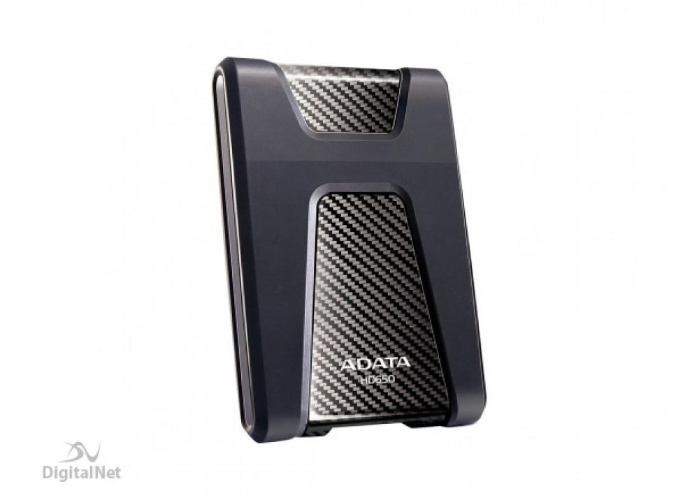 A-DATA EXTERNAL HARD DISK 2TB HD650 ANTI SHOCK USB.3 BLACK