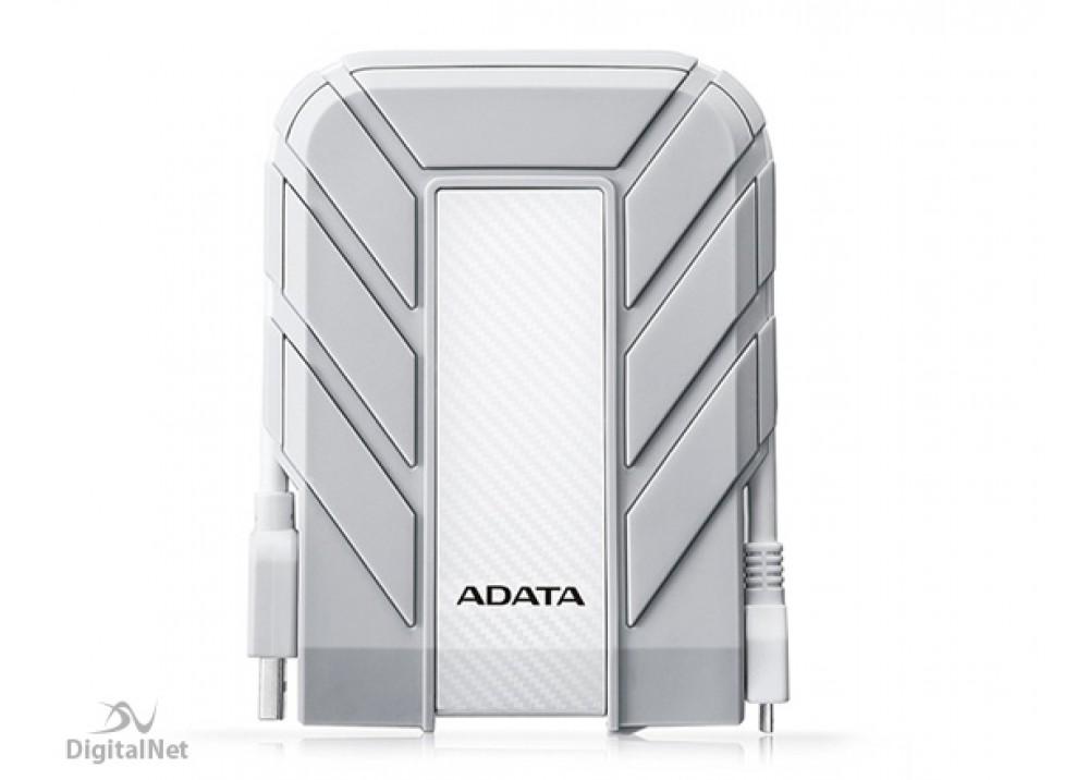A-DATA EXTERNAL HARD DISK 1TB HD710 FOR MAC ANTI SHOCK USB .3 TYPE C WHITE