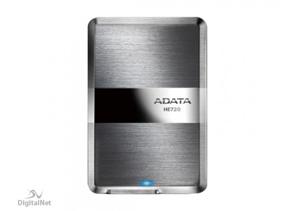 A-DATA EXTERNAL HARD DISK 1TB HE720   ULTRA SLIM USB.3 TITANIUM