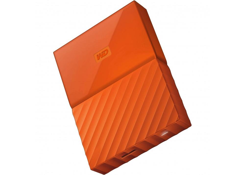 WESTERN DIGITAL EXTERNAL HARD DISK MY PASSPORT 2TB 3.0 ORANGE