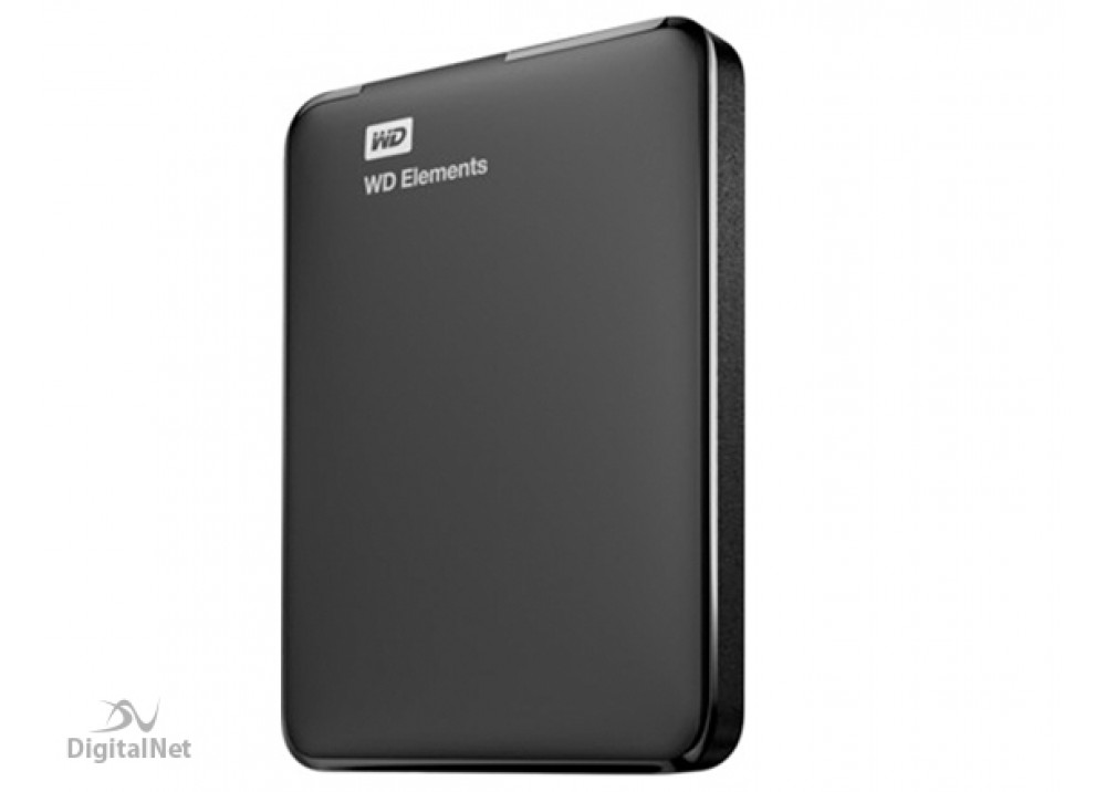 WESTERN DIGITAL EXTERNAL HARD DISK ELEMENT 1TB 3.0 BLACK