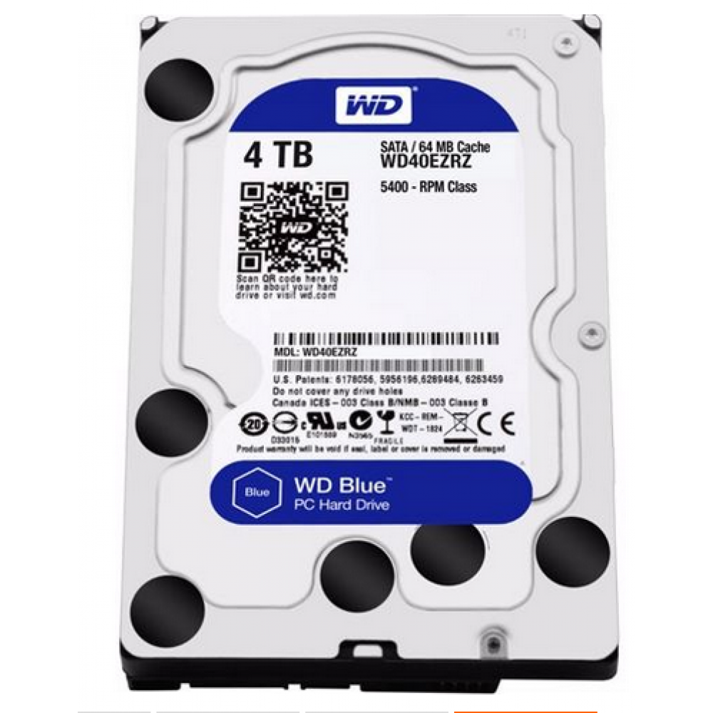 "WESTERN DIGITAL INTERNAL DESKTOP HARD DISK 4TB 3.5"" BLUE"