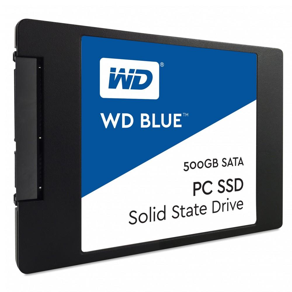 """WESTERN DIGITAL INTERNAL HARD DISK SSD 500GB 2.5"""" BLUE"""