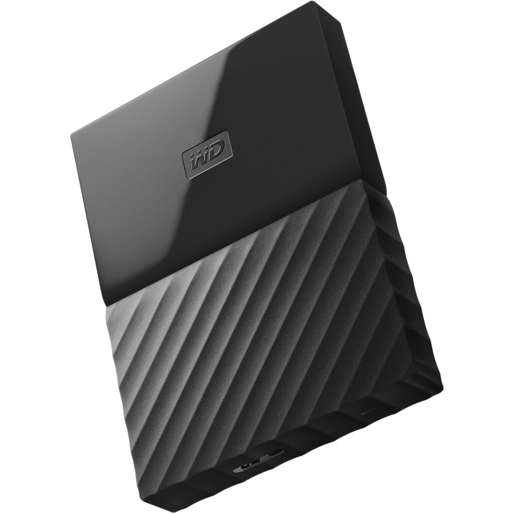 WESTERN DIGITAL EXTERNAL HARD DISK  MY PASSPORT ULTRA 2TB 3.0 BLACK