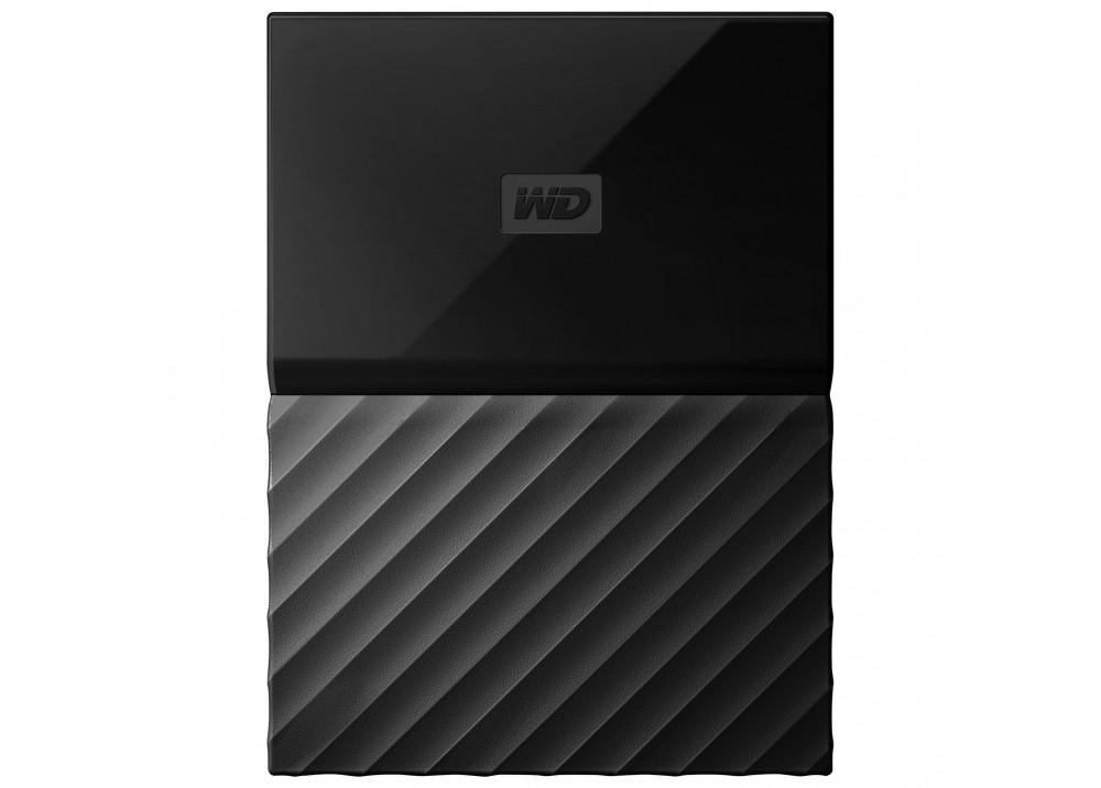 WESTERN DIGITAL EXTERNAL HARD DISK MY PASSPORT 2TB 3.0 BLACK