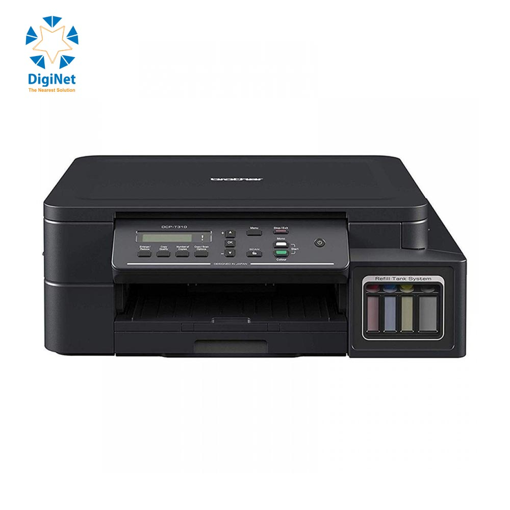 BROTHER INKJET PRINTER DCP-T310 COLOUR 3 IN 1 INK SYSTEM