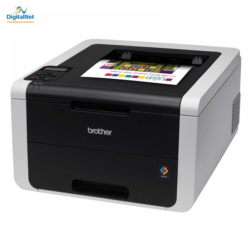 BROTHER COLOR LASER PRINTER HL-3170CDW BLACK