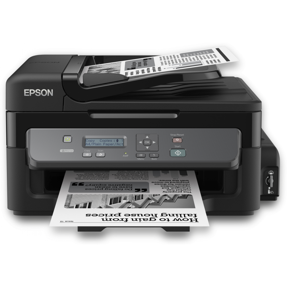 EPSON ALL IN ONE MONO M200 INK SYSTEM BLACK