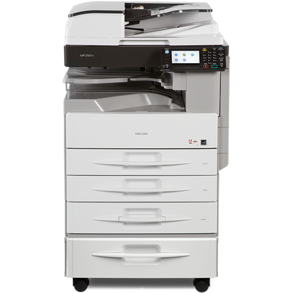 RICOH  MULTIFUNCTION LASERJET COPIER MP 2501 SP DADF DUPLEX