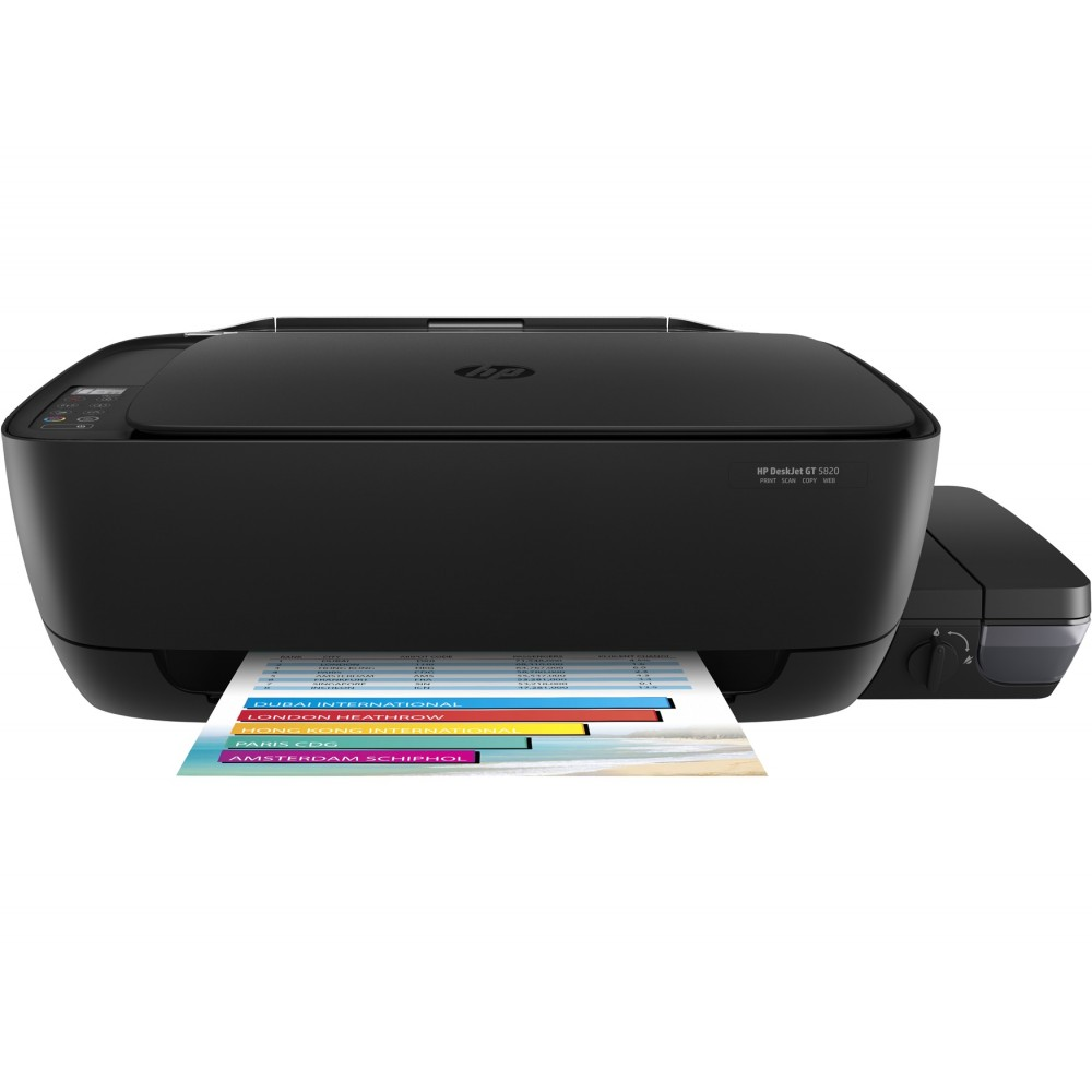 HP DESKJET GT 5820 ALL IN ONE INK SYSTEM WIFI COLOUR