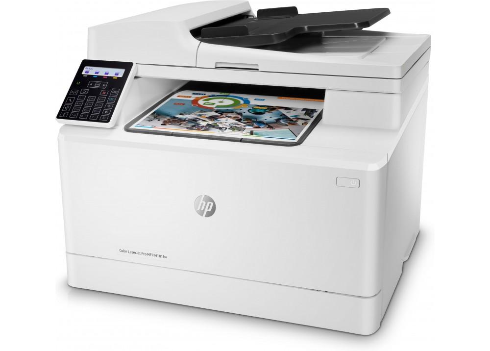 HP COLOR MULTIFUNCTION LASERJET PRO MFP M181FW