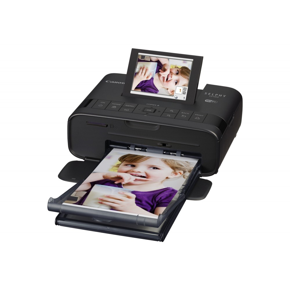 CANON PHOTO PRINTER SELPHY CP1300 BLACK